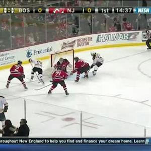 Cory Schneider Save on Milan Lucic (05:25/1st)