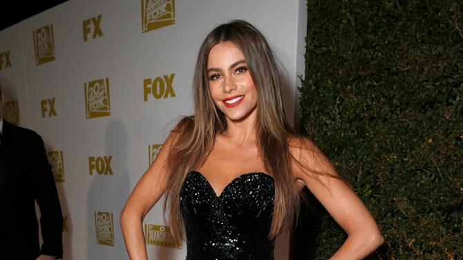 Actress Sofia Vergara attends the Fox Golden Globes Party on Sunday, January 13, 2013, in Beverly Hills, Calif. (Photo by Todd Williamson/Invision for Fox Searchlight/AP Images)