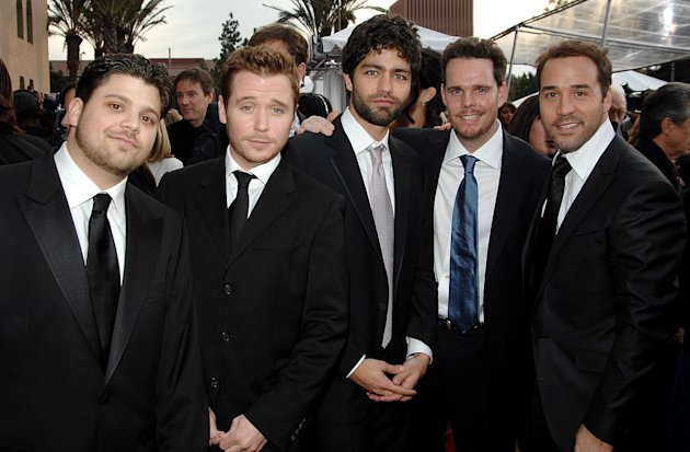 Jerry Ferrara, Kevin Connolly, Adrian Grenier, Kevin Dillon and Jeremy Piven at the 13th Annual Screen Actors Guild Awards.
