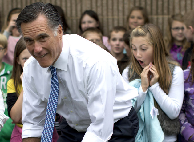 Nickelodeon TV says Romney skipped kids' questions