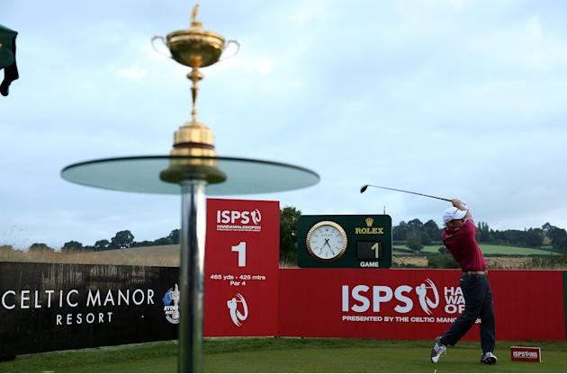 ISPS Handa Wales Open - Day One