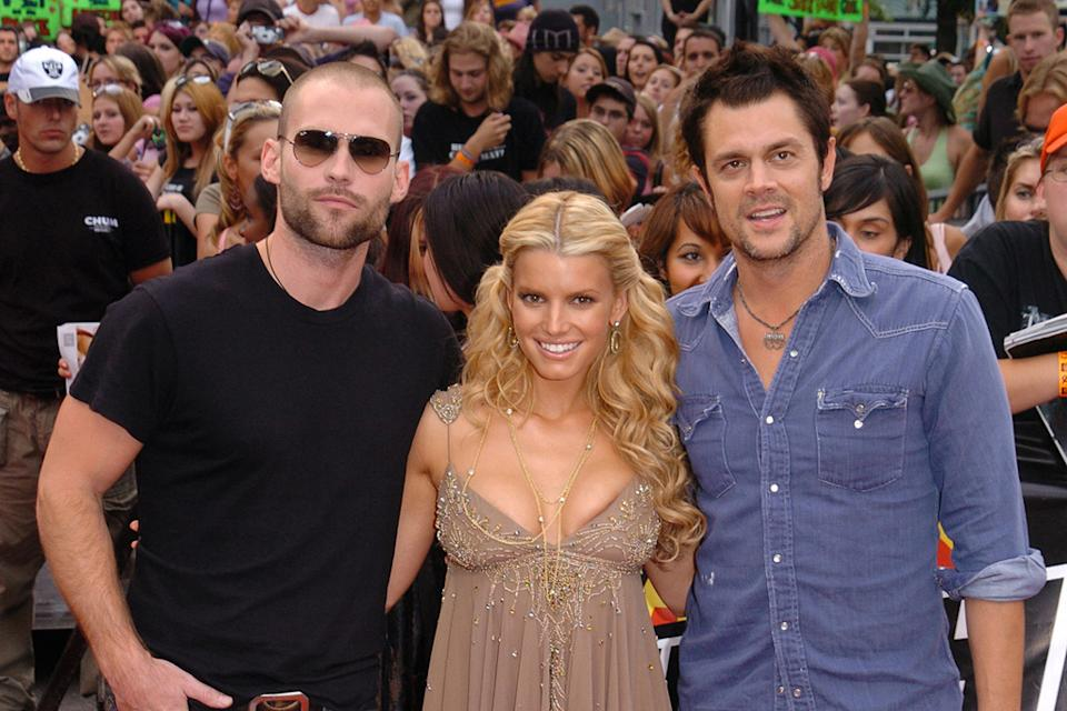 Seann William Scott 2005 Jessica Simpson Johnny Knoxville