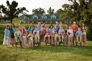"""The Duggars from """"19 Kids and Counting"""" on TLC -- TLC/Scott Enlow"""