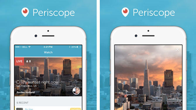 Periscope's first update tackles boring feeds and notification overload