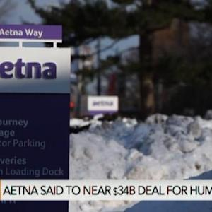 Aetna Said to Be Near Deal for Humana for $34B