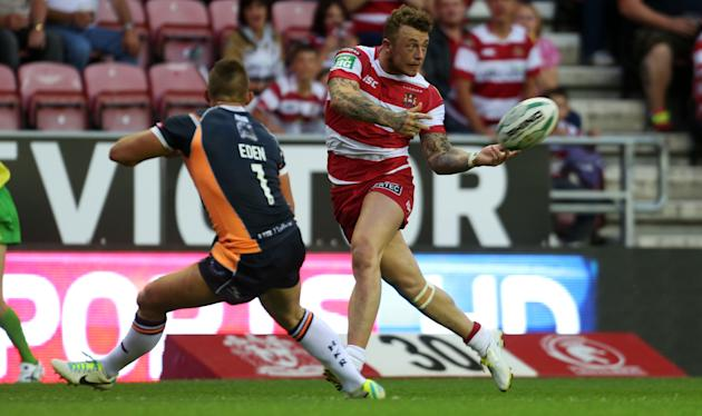 Rugby League - Super League - Wigan Warriors v Hull KR - DW Stadium