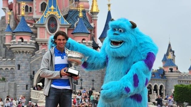 Rafael Nadal at Disneyland (Imago)