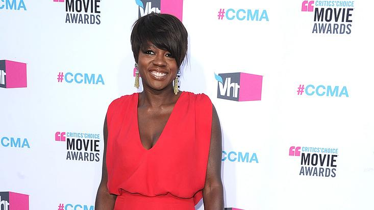 2011 Critics Choice Awards 2012 Viola Davis