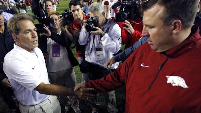 Bielema, Saban supported slow-down rule proposal