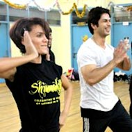 Shahid Kapoor Gets Nostalgic At Shiamak Davar's Dance Class