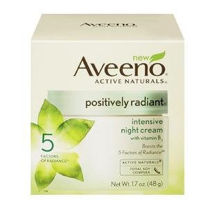 Aveeno Positively Radiant Intensive Night Cream