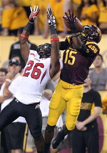 Arizona State beats Utah 37-7 in Pac-12 opener