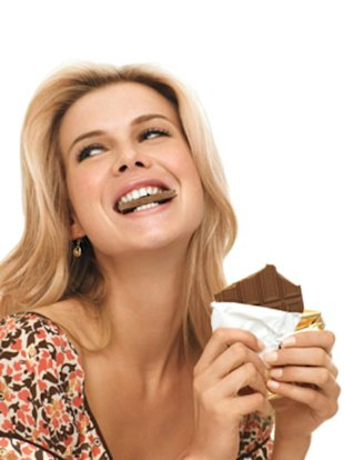 Eat all the chocolate you want! You won&amp;#39;t get a pimple.