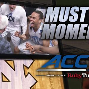 Roy Williams Gets Down in UNC Locker Room After Win | ACC Must See Moment