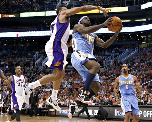Nuggets beat Suns 118-107, clinch playoff berth