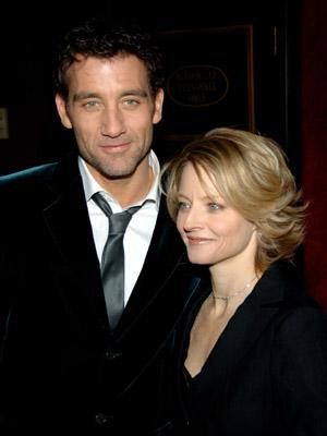 Clive Owen and Jodie Foster at the NY premiere of Universal Pictures' Inside Man