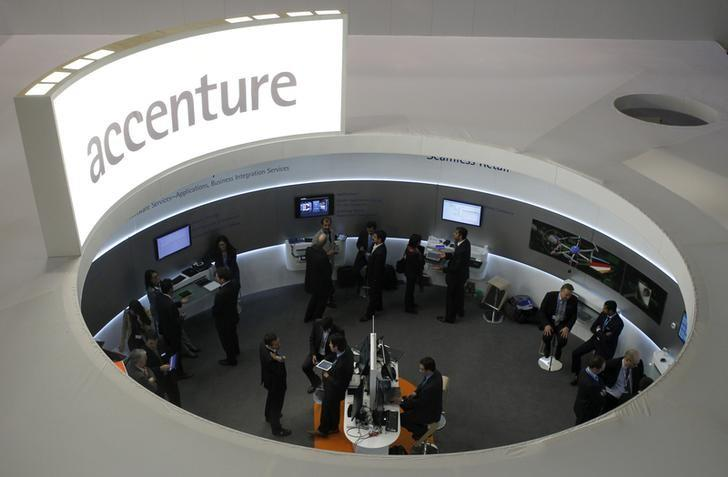 Accenture raises full-year revenue forecast after strong 1st-quarter