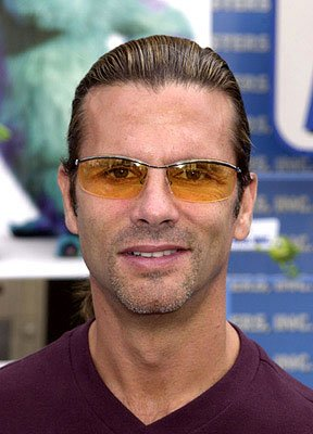 Lorenzo Lamas at the Hollywood premiere of Monsters, Inc.