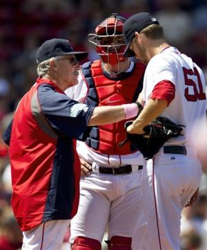Salty has 5 RBIs, Red Sox beat Indians 12-1