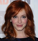 Christina Hendricks dyes her hair red. Getty Images