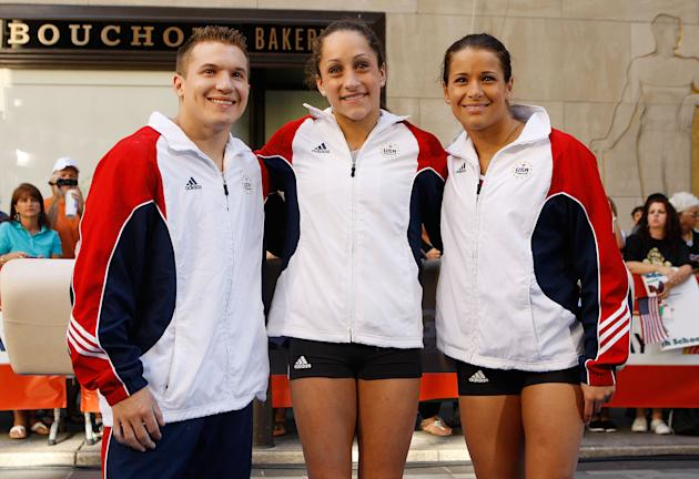 U.S. Olympic Hopefuls Appear On The Today Show