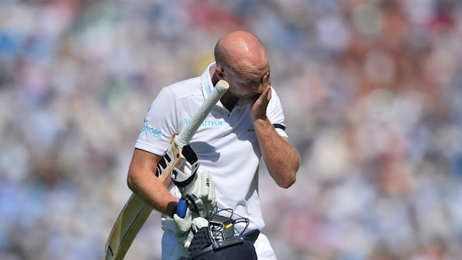Adam Lyth's place is now under threat ahead of England's departure to the United Arab Emirates in October for three Tests against Pakistan