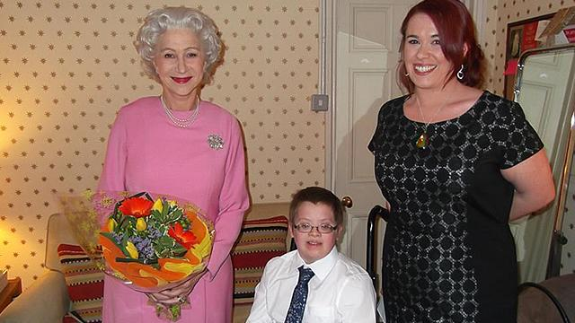 Helen Mirren Plays Queen to Grant Dying Boy's Wish