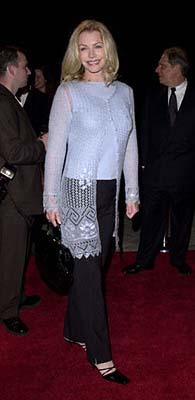 Premiere: Shannon Tweed at the Hollywood premiere of Paramount's Lucky Numbers - 10/24/2000