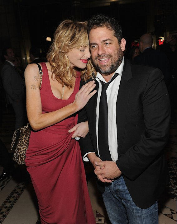 Wall Street Money Never Sleeps NYC Premiere 2010 Courtney Love Brett Ratner