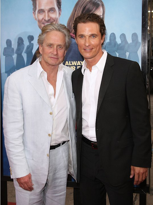 Ghosts of Girlfriends Past LA Premiere 2009 Michael Douglas Matthew McConaughey