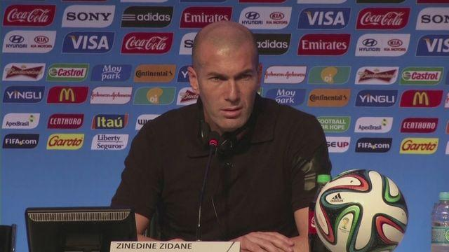 France need a difficult group, says Zidane