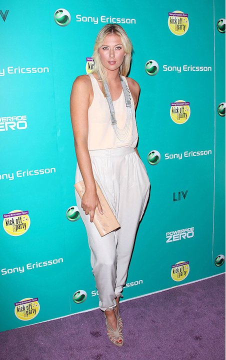 Sharapova Maria Sony Ericsson Prty