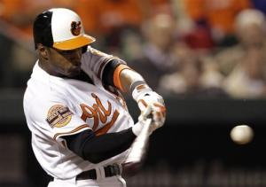 HRs by Jones, Davis help Orioles top Blue Jays 5-2