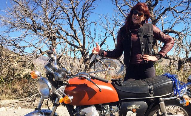 An Interview with Jessie Gentry, President of The Velvets Motorcycle Club