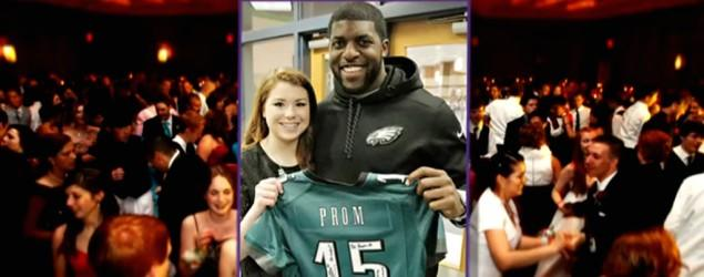 Eagles linebacker to take fan to the prom