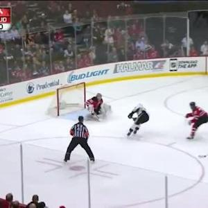 Cory Schneider Save on Brandon Sutter (13:33/1st)