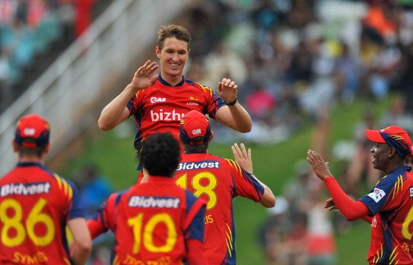 CLT20 2012 Highveld Lions v Yorkshire Carnegie