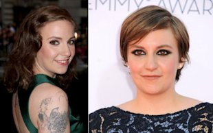 Hair Transformations: Lena Dunham