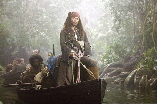 Pirates of the Caribbean Dead Man's Chest 2006 Walt Disney Pictures Johnny Depp