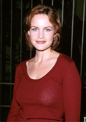 Premiere: Carla Gugino at the Egyptian Theatre premiere of Artisan's Requiem For A Dream - 10/16/2000