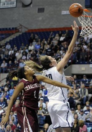 No. 2 UConn women rout Charleston 103-39