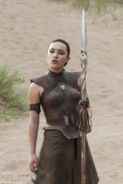 Keisha Castle-Hughes as Obara Sand in 'Game of Thrones' Season 5, Episode 4 'Sons of the Harpy' -- Helen Sloan/HBO