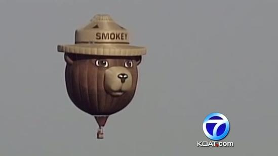 Smokey Bear balloon controversy