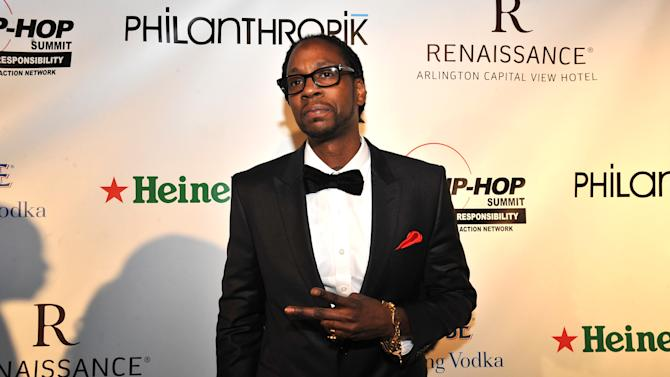 2 Chainz is seen at the Hip-Hop Inaugural Ball on Sunday, Jan. 20, 2013 in Washington. (Photo by Larry French/Invision/AP)