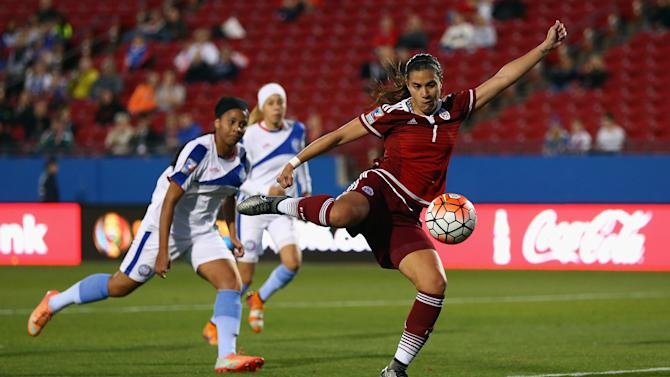 Puerto Rico v Mexico: Group A - 2016 CONCACAF Women's Olympic Qualifying