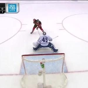 Patrik Elias Goal on Jonathan Bernier (00:00/SO)