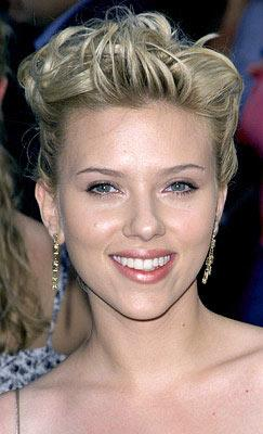 Scarlett Johansson at the New York premiere of Dreamworks' The Island