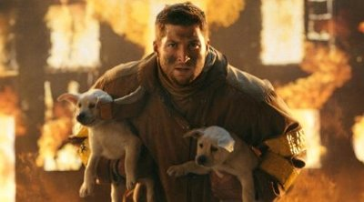 Tim Tebow appears in T-Mobile Super Bowl commercial. (Photo from ad shot by Stacy Wall, Imperial Woodpecker Prod.)