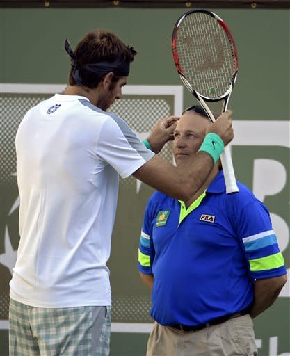 Djokovic, Del Potro reach semis at Indian Wells