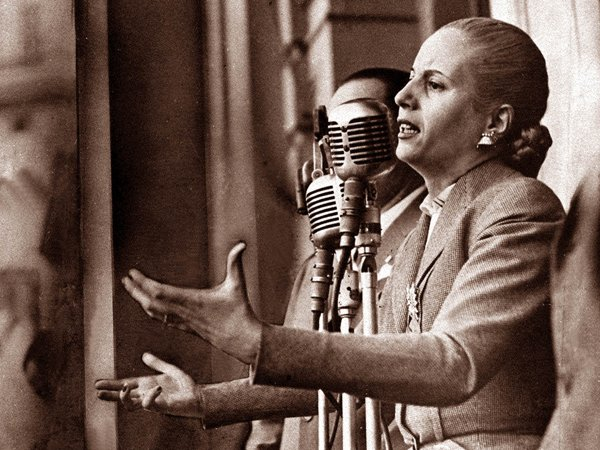 Imagen emblemtica de Eva Pern